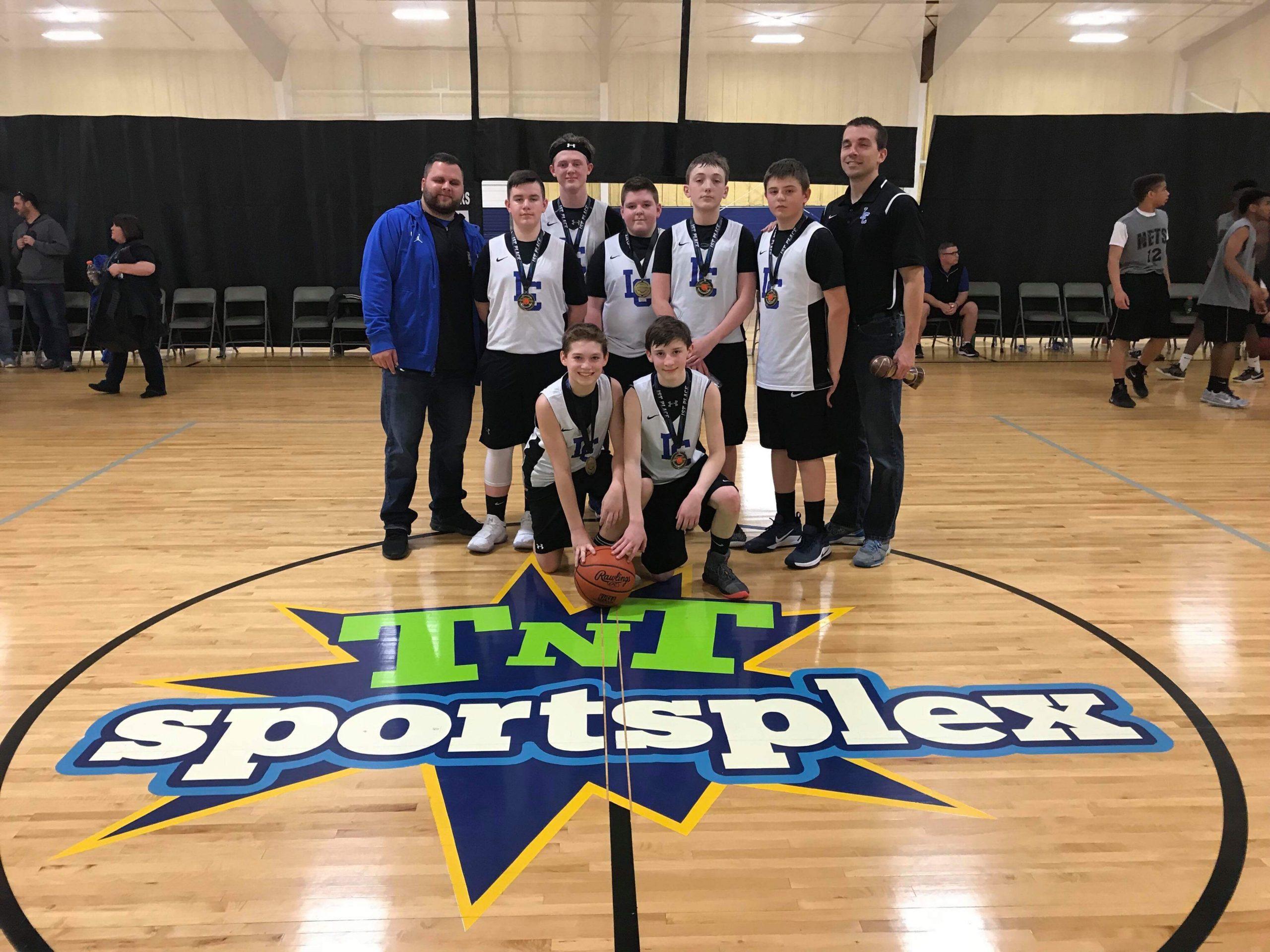 LCC AAU 7th grade basketball team wins East TN Tournament