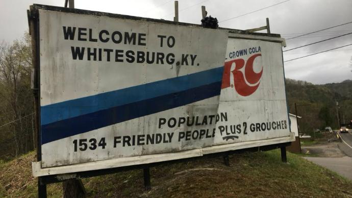 Iconic Whitesburg RC Cola sign taken down with hope of restoration