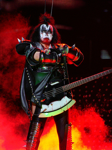 "Do We Still Call Gene Simmons ""Dr. Love"" After This Awesome Guest Performance???"