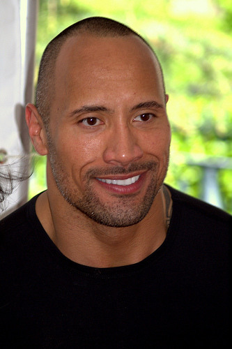 The Rock is Excited for his Razzie!