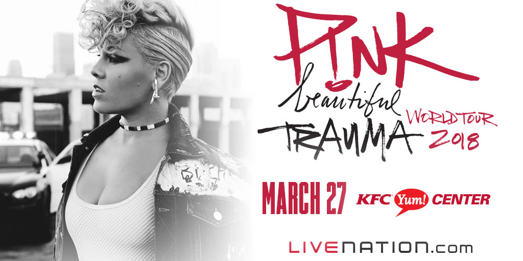 Win tickets to see Pink in Louisville