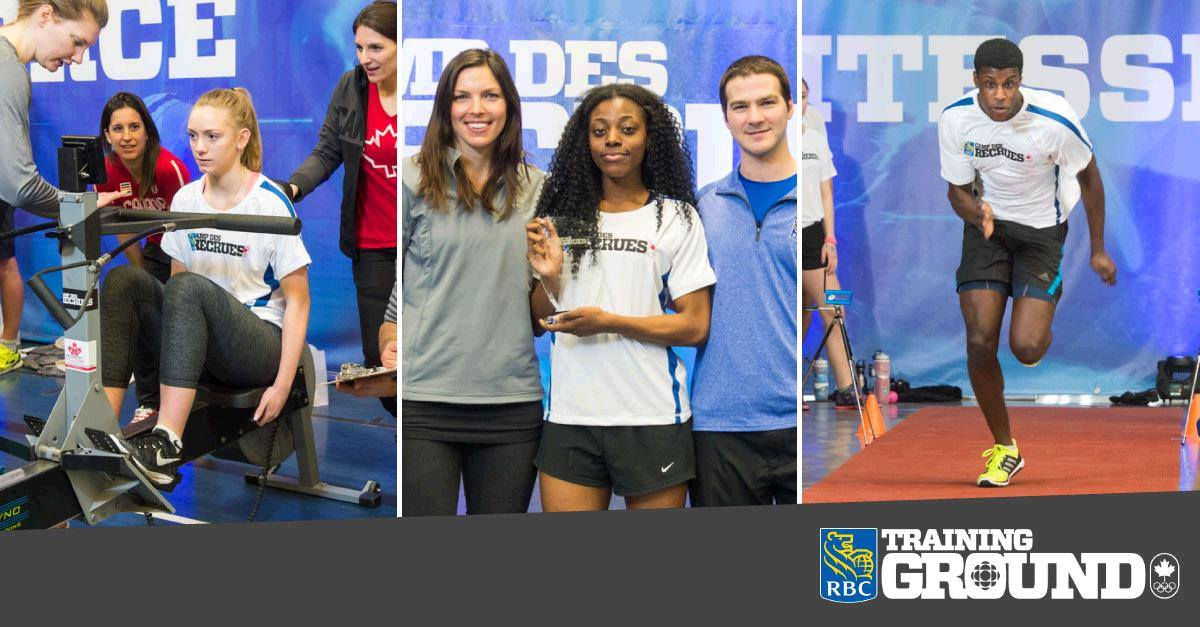 Local athletes have a chance to get recognized this weekend with the RBC Training Ground Regional Qualifying event