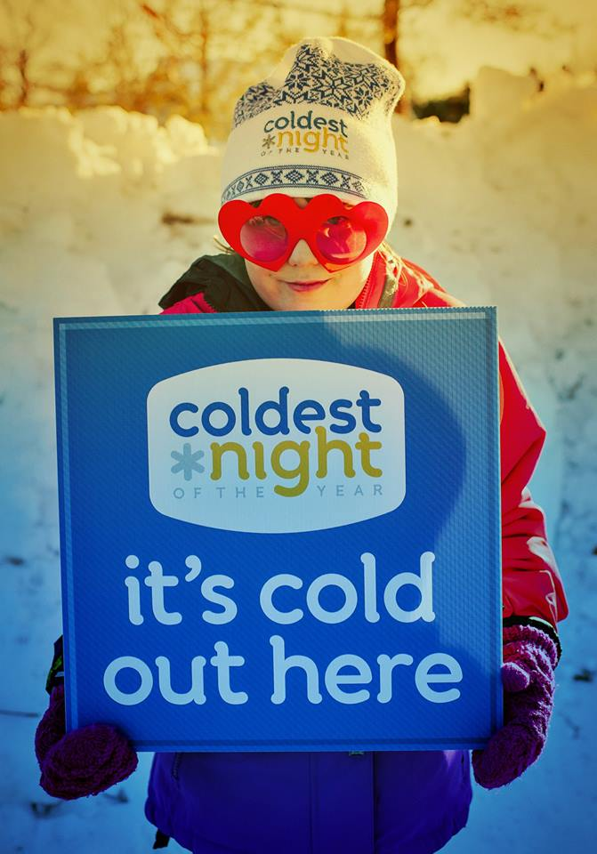 Coldest Night of the Year fundraising walk kicks off tonight, with more donations needed