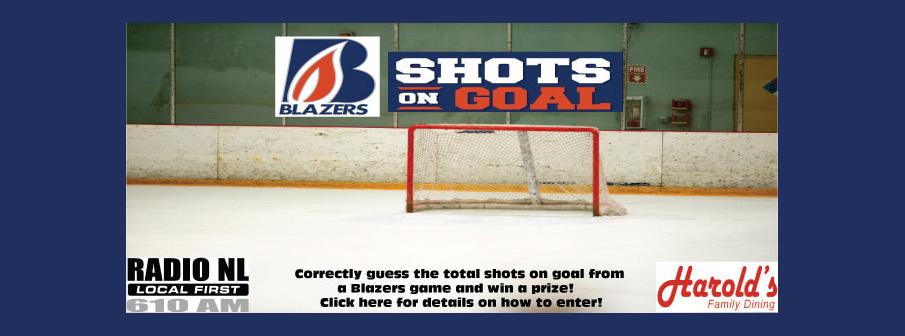 Blazers Shots On Goal Contest