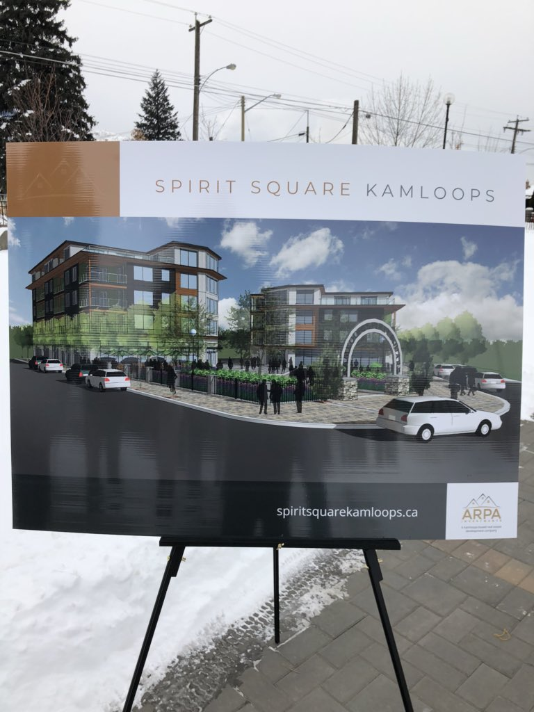 Two big housing projects coming to North Kamloops