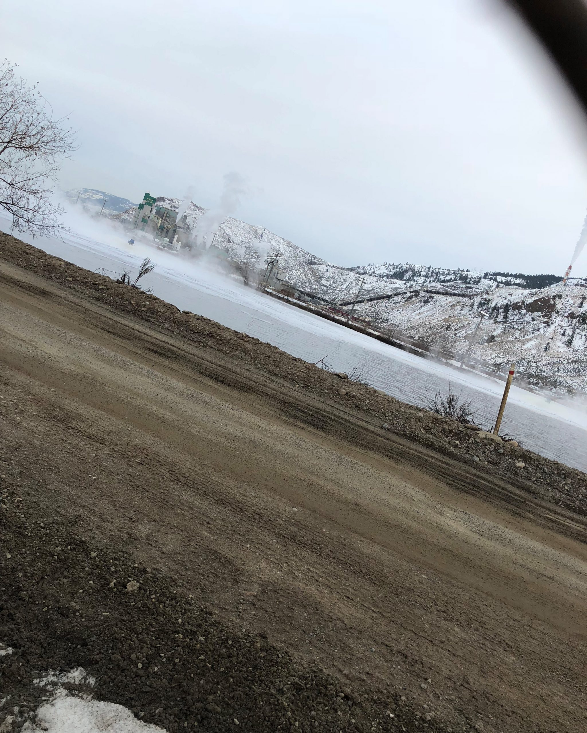 Updated - RCMP investigating after body found in Kamloops pulp mill pond