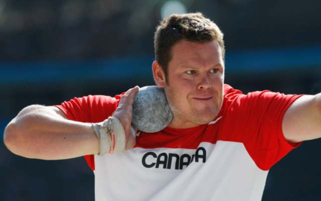 Local Olympian Dylan Armstrong will be part of the Kamloops Sports Hall of Fame class of 2018