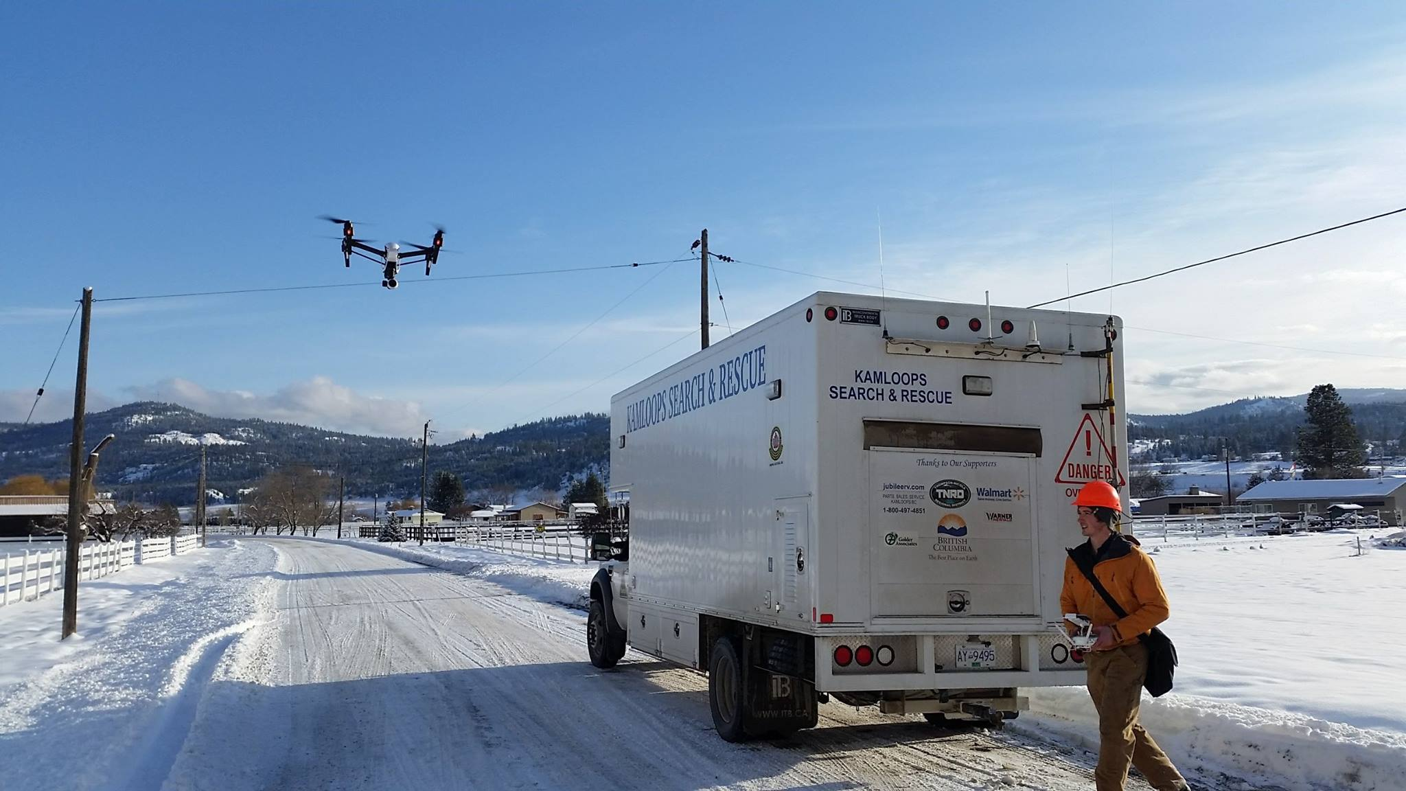 Drone technology used by Kamloops Search and Rescue will see another year of use