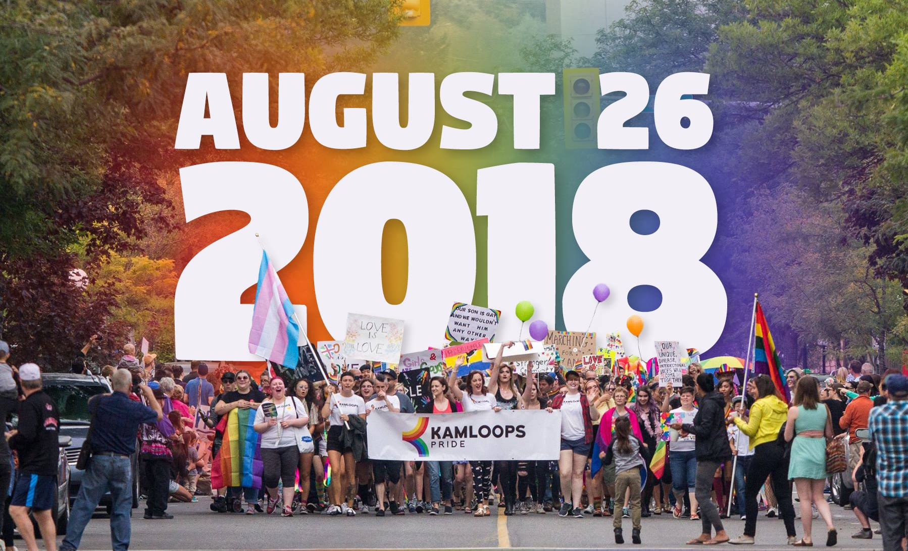 Kamloops Pride Parade date now set, with plans in the works for a bigger event than last year's