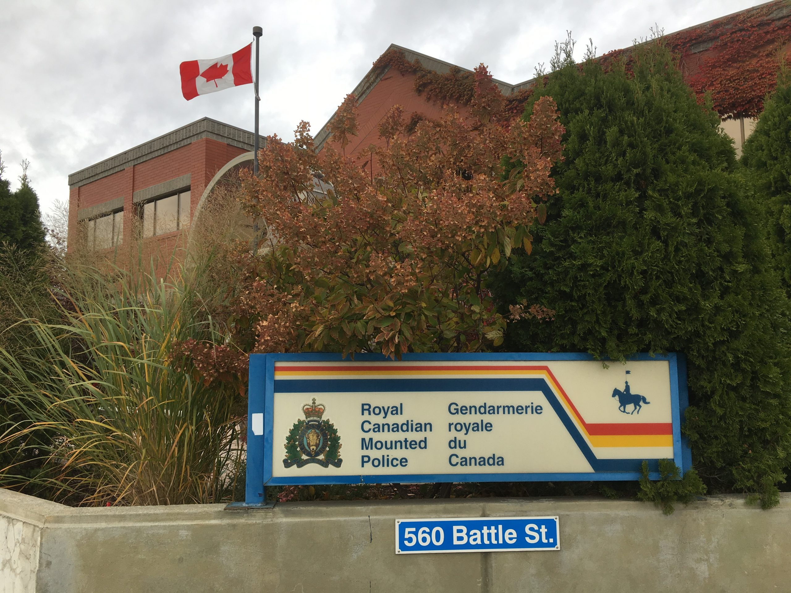 "RCMP discover loaded gun on a man ""acting strangely"" downtown"