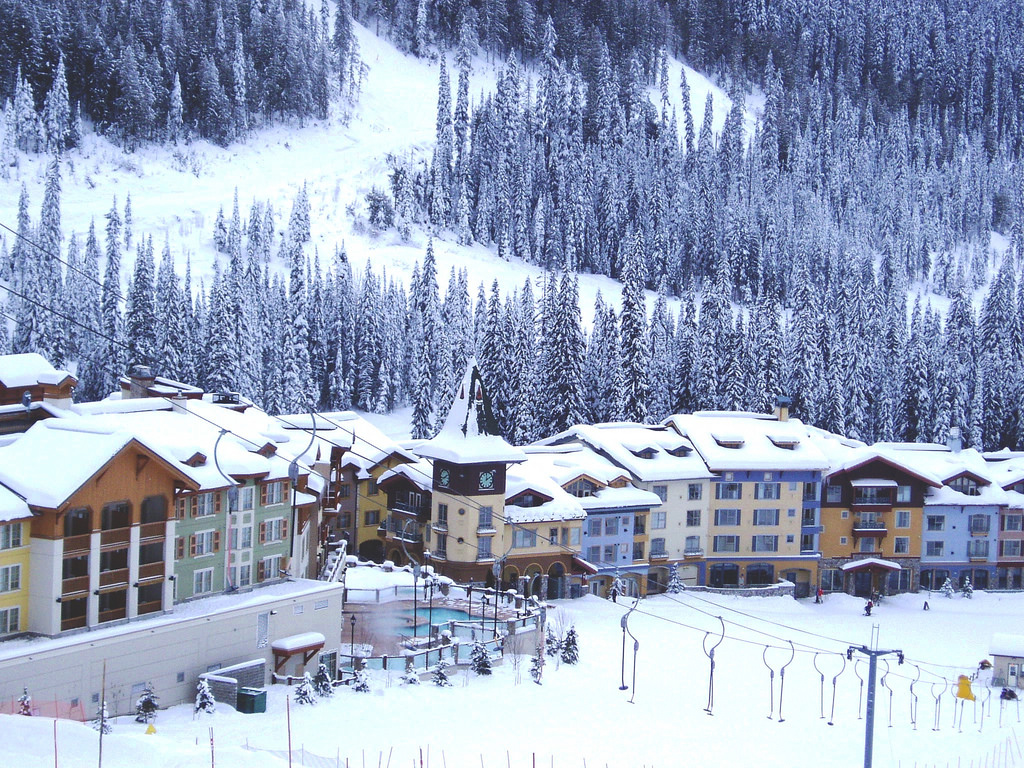 New all time record for Sun Peaks Resort