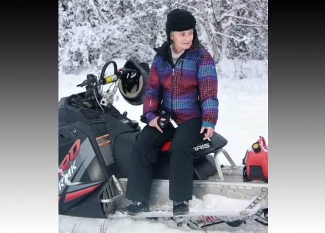 Kamloops Mounties confirming the body pulled from the South Thompson River yesterday was missing, Thelma Vaughan