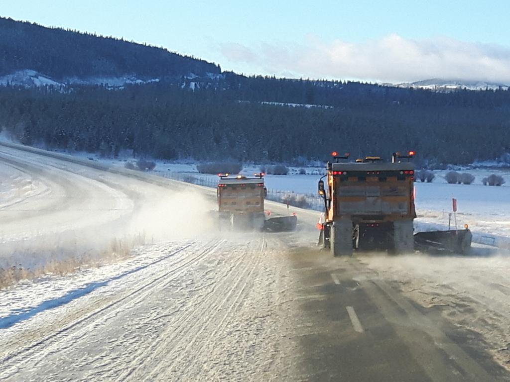 The provincial government has addressed this winter's Coquihalla concerns