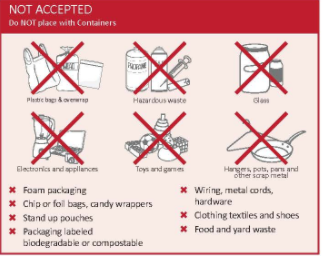 The Wrong Stuff: City Hall concerned about what's in your recycling bin
