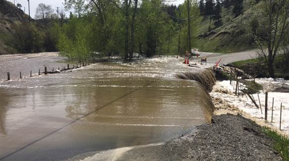 Province makes disaster financial assistance available to TNRD flood victims