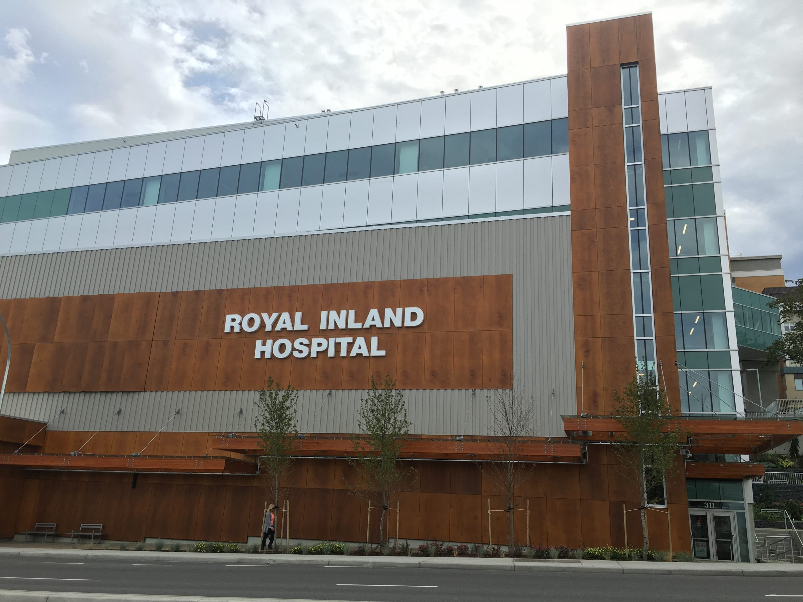 Next major development on the massive upgrade of Royal Inland Hospital coming soon