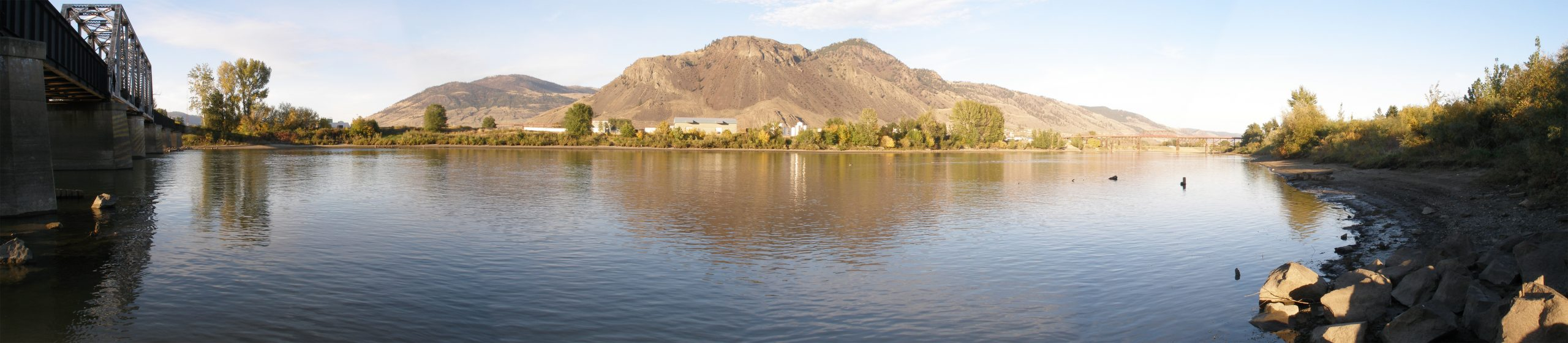 Good news and potentially bad news on the Kamloops flood front