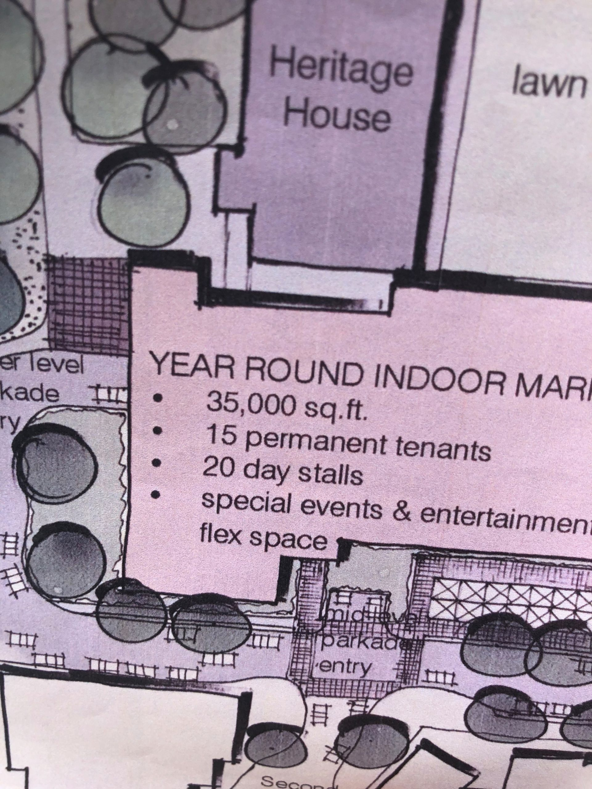 Preliminary plans in the works for proposed indoor public market