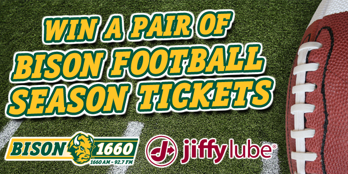 Feature: http://www.bison1660.com/win-bison-football-season-tickets/