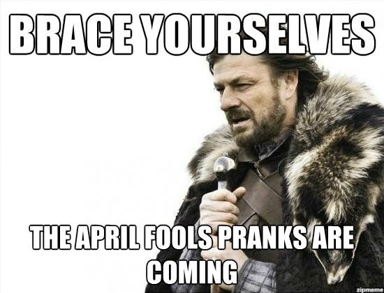 Quick and easy April Fool's Day pranks…