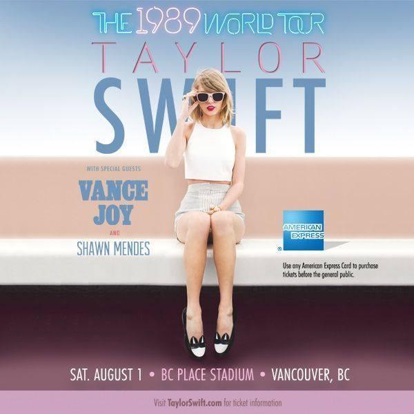 Taylor Swift Pre-Sale Tickets!