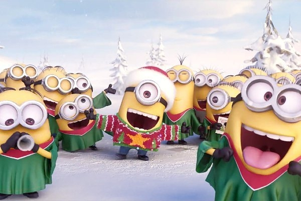 Minions Sing Jingle Bells! | 101.3 The River