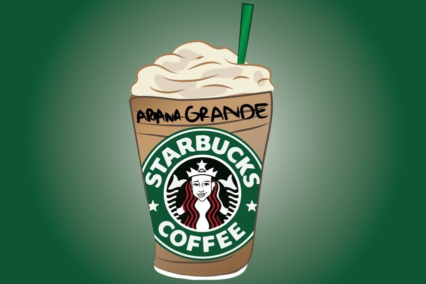 I'll have a Ariana Grande and a scone (to go) please #ShortBuzzz