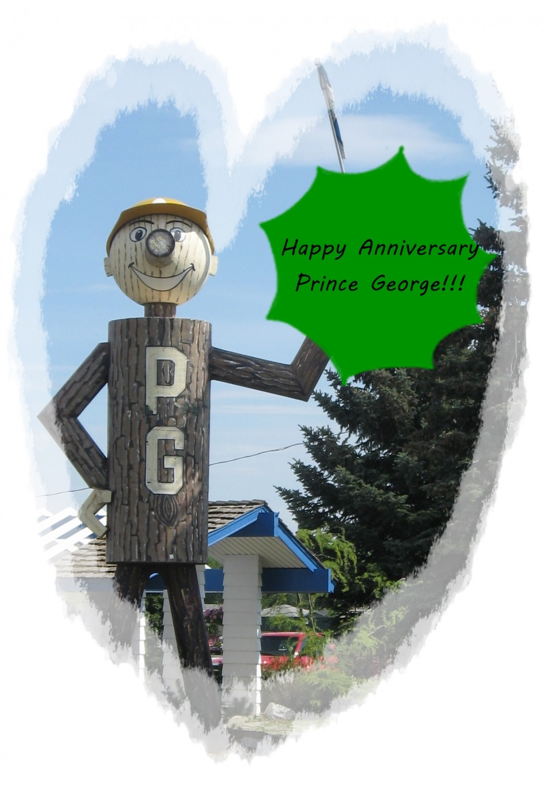 Happy Anniversary, PG...here's a rock!