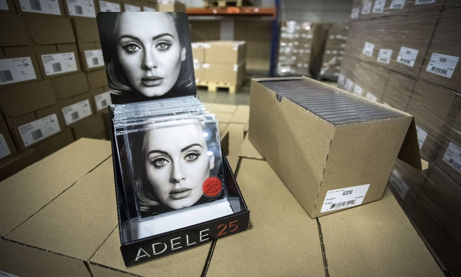 Adele's new album is doing okay