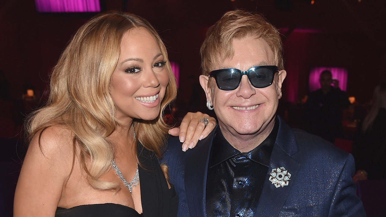Mariah, Elton and Ed #ShortBuzzz