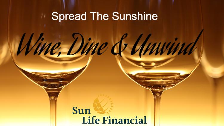 Spread The Sunshine: Wine Dine & Unwind