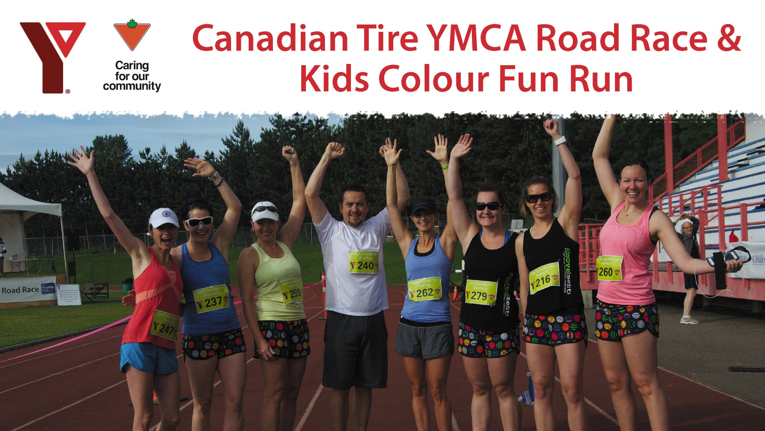 Canadian Tire YMCA Road Race & Kids Colour Fun Run