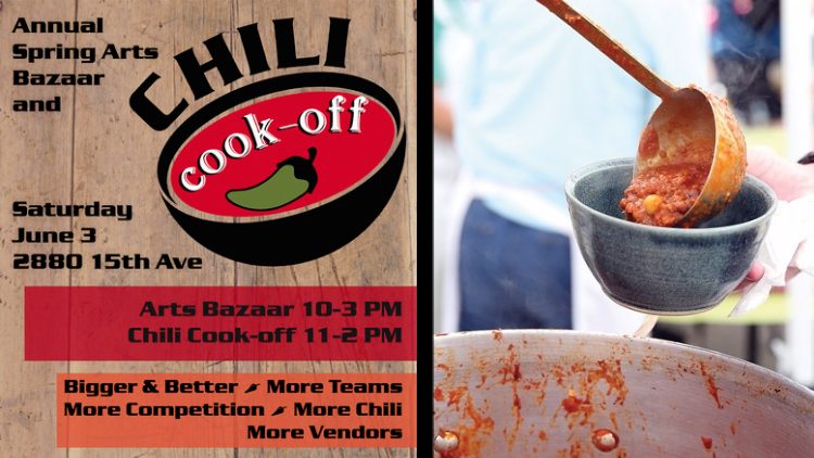 The Spring Arts Bazaar & Chili Cook Off