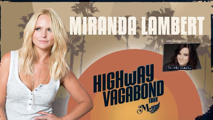 MIRANDA LAMBERT: Highway Vagabond Tour