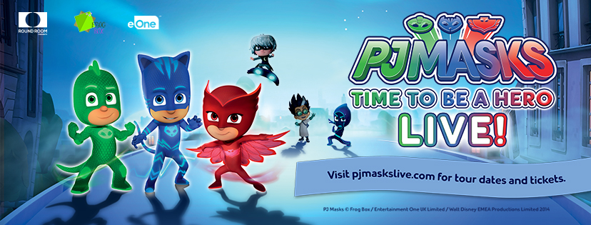 'PJ MASKS LIVE! TIME TO BE A HERO' #CityofPG