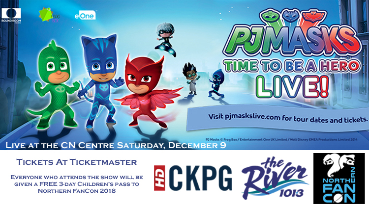 Disney Junior Presents: PJ Masks Powered by Northern FanCon 2018