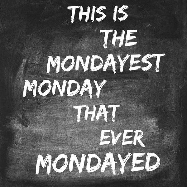 Case of The Mondays #ShortBuzzz