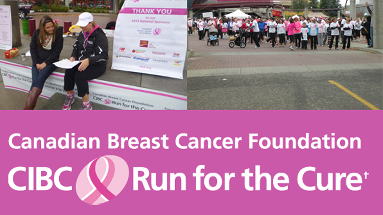 Canadian Breast Cancer Foundation CIBC Run for the Cure