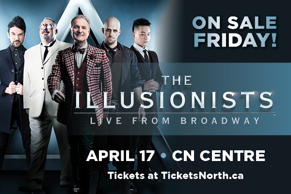 THE ILLUSIONISTS - @CNCentre - Prince George