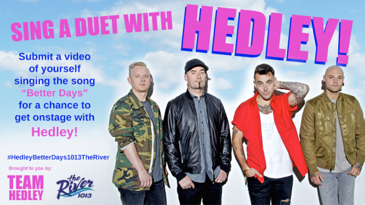 On stage with Hedley #ShortBuzzz