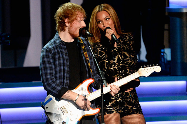 Ed and Beyonce #Perfect
