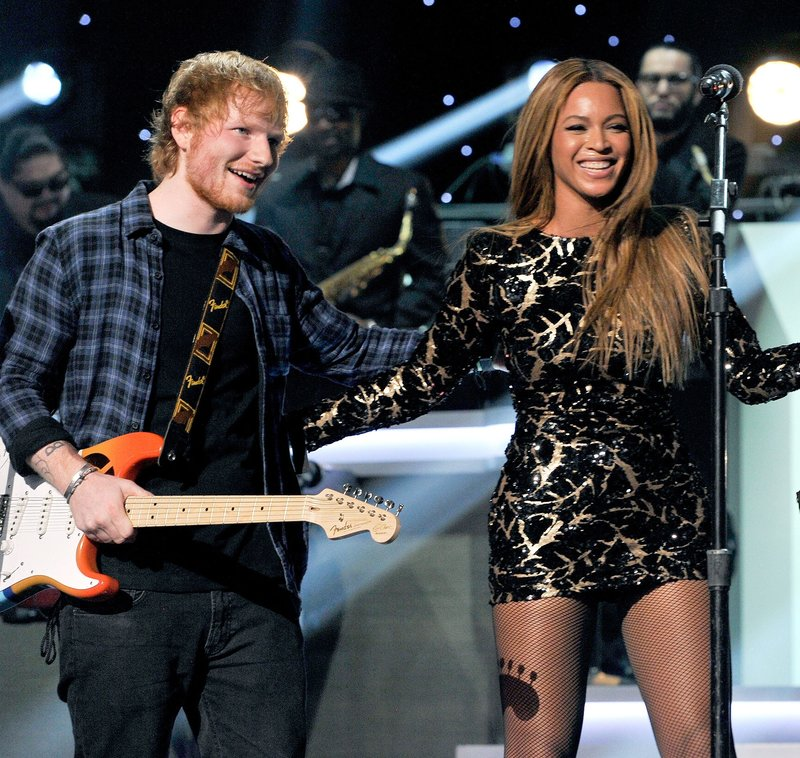 Ed and Beyonce #ShortBuzzz
