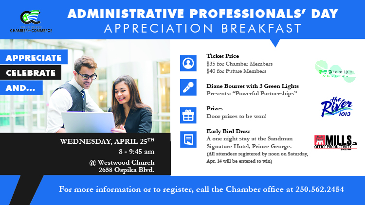 Chamber of Commerce Administrative Professionals Day Breakfast
