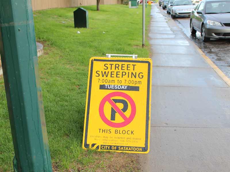 Street Sweeping Begins in Saskatoon