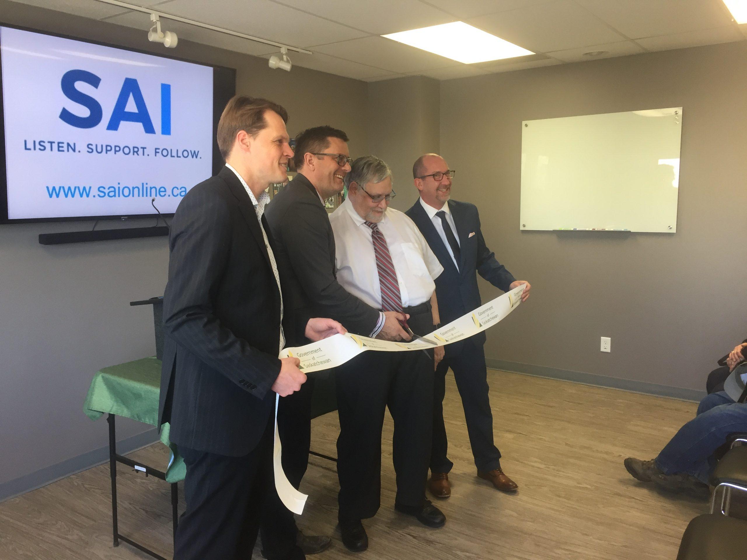 Saskatchewan Alternatives Initiatives Moves to New Facility