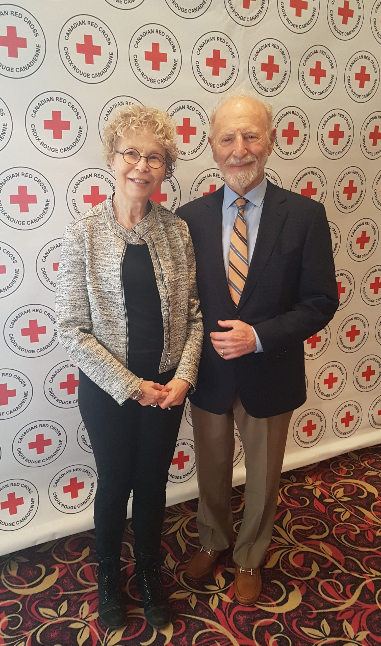 Saskatoon Couple are Red Cross Humanitarians of the Year.