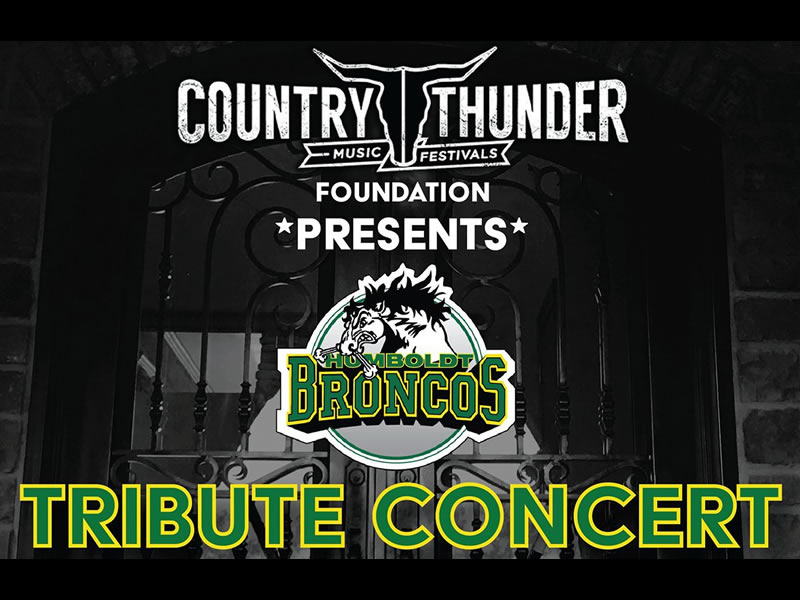 Stars Are Honoured to Take Part in the Humboldt Broncos Benefit Concert