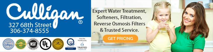 Feature: https://culligansaskatoon.com/expert-water-treatment/?ibp-adgroup=Culligan&gclid=Cj0KCQjwqYfWBRDPARIsABjQRYxwPckdy9wkiNXTLvlVJ0iVFqRvELdcL-U_gQn-z8rrjJagGzJEk2UaAhWJEALw_wcB
