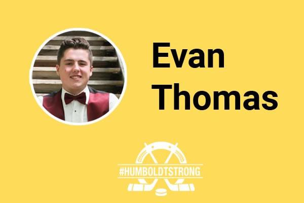 Memorial Service Honours Humboldt Bronco, Evan Thomas