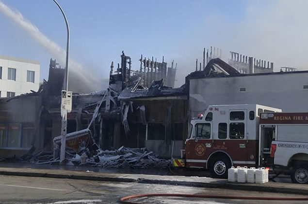 Cause Of Regina Fire Remains A Mystery